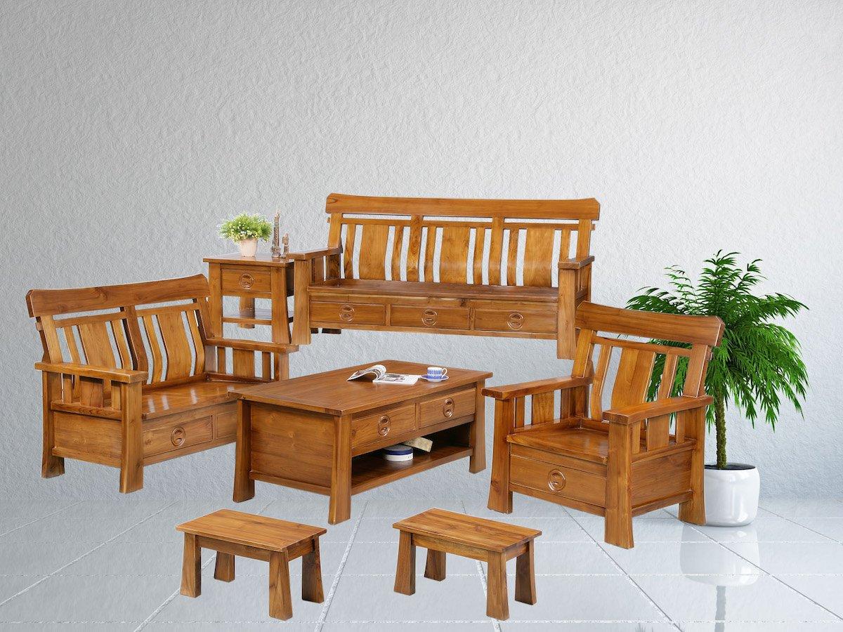 家具材质:【全柚木家具,无其他木头拼接或贴皮】